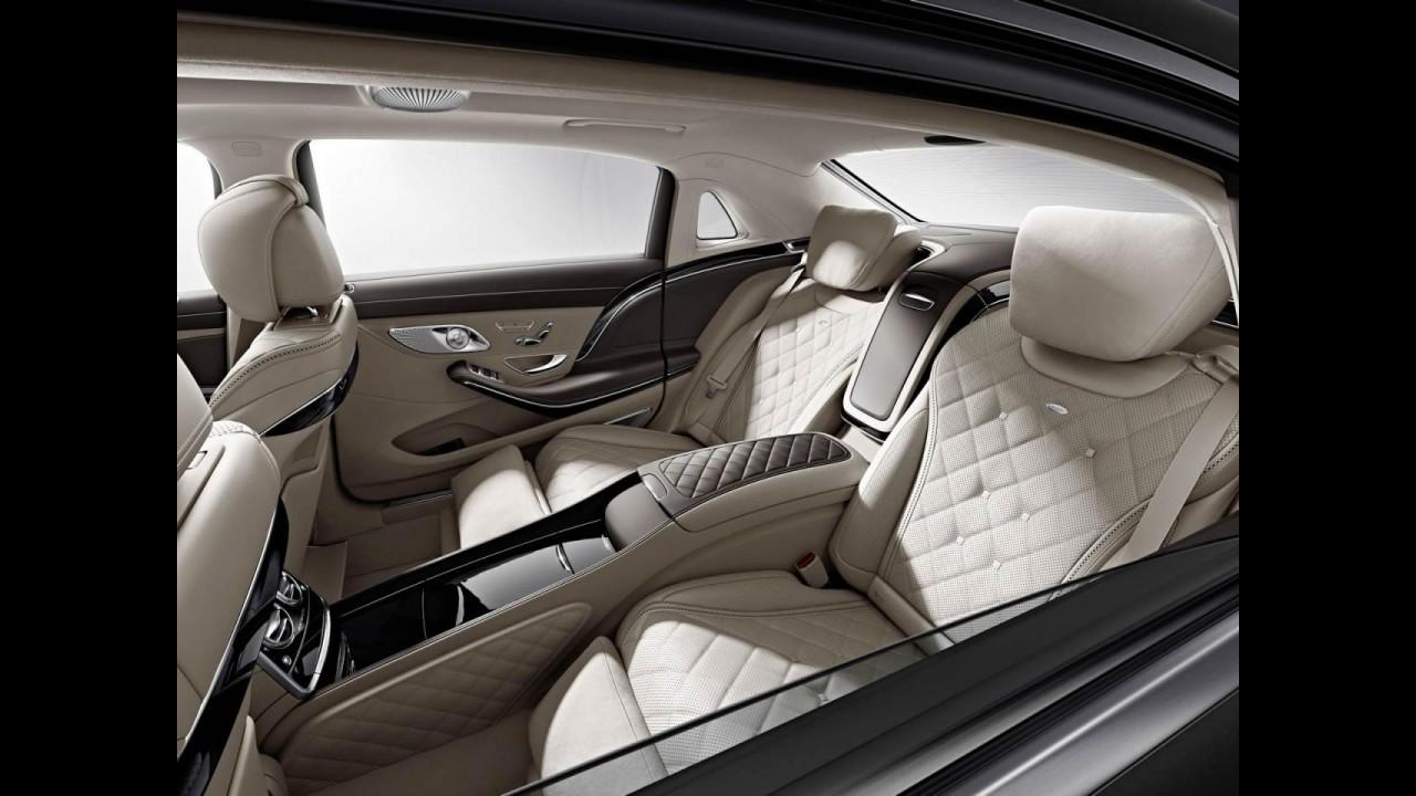 Ostentação: Mercedes mostra teaser do Maybach S600