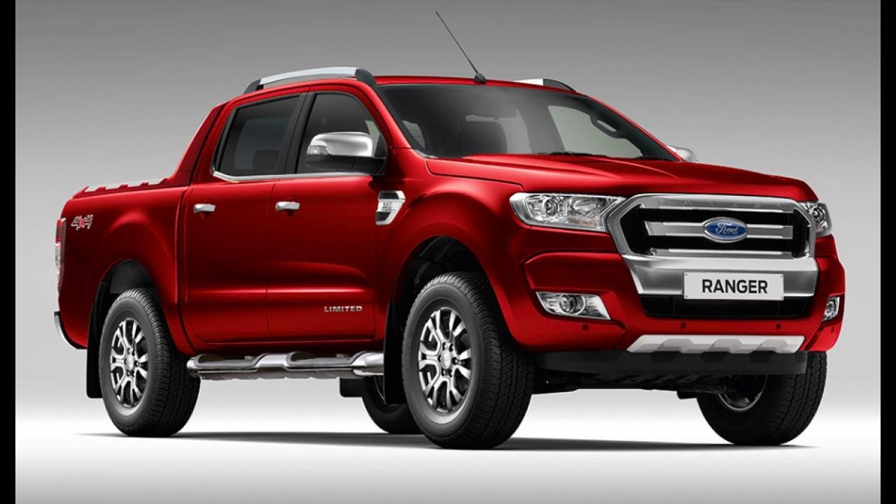 Lançamento breve: nova Ranger 2016 ganha página exclusiva no site da Ford