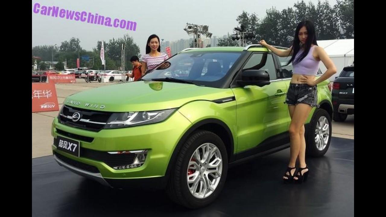 Sucesso, Landwind X7 vai promover imagem do Evoque na China, diz analista