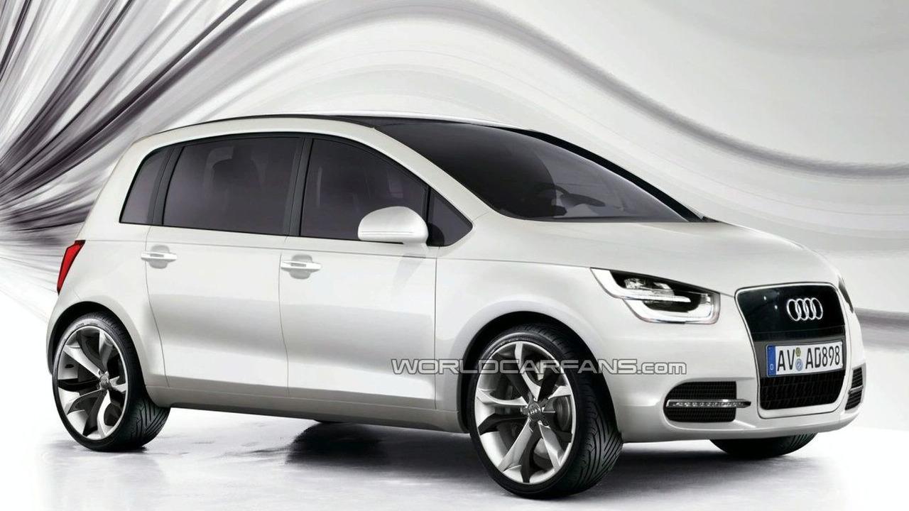 Audi Electric Vehicle (EV) rendering