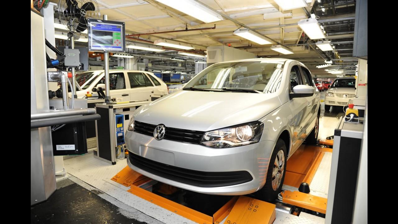 Grupo Volkswagen supera produção de 200 milhões de veículos no mundo