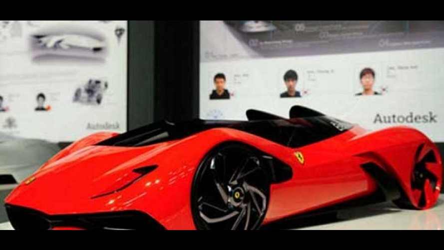 Ferrari promove concurso para concepção de modelo do futuro