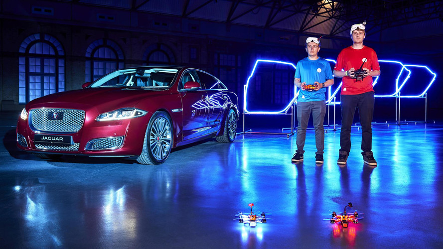 Game Of Drones: Jaguar Creates XJ-Inspired Drone Race