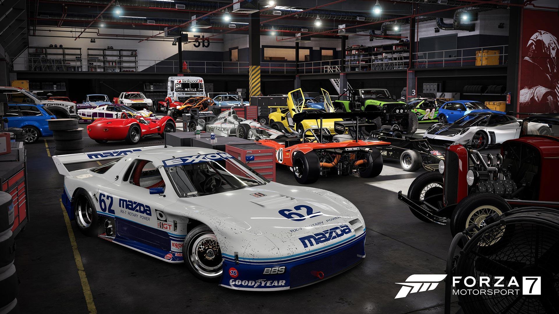 Forza motorsport 7 launch trailer reveals virtual driving paradise