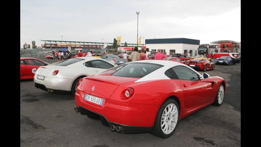 I Clienti Ferrari si scatenano a Misano