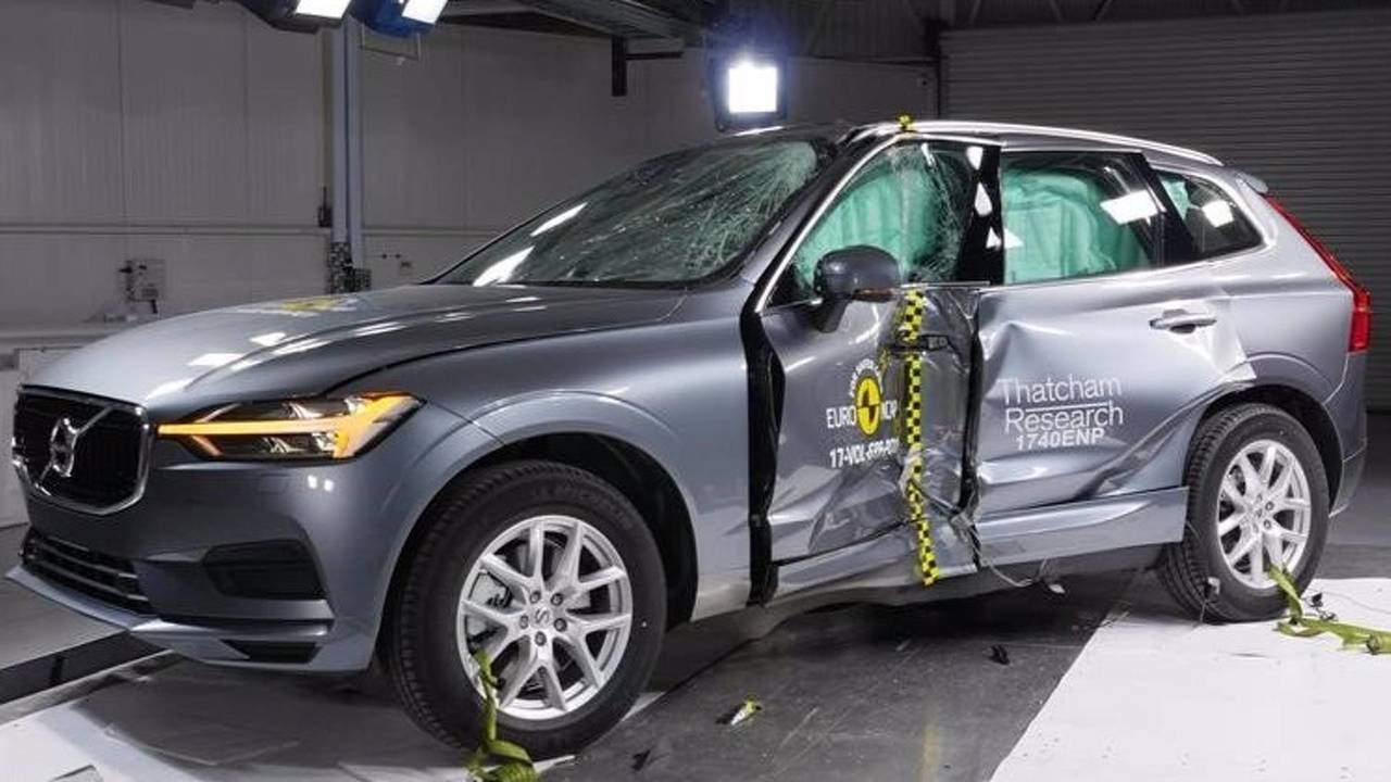 Volvo XC60 crash-test