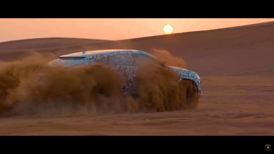 """Teaser - Lamborghini Urus, le """"Super SUV"""" roi des dunes"""