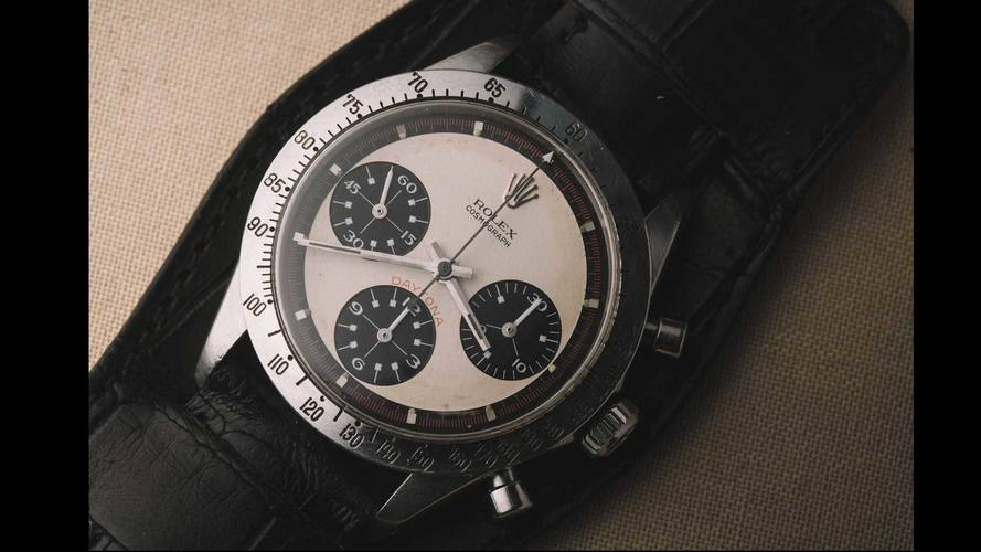 Paul Newman Daytona Rolex Brings Record $17.8 Million At Auction