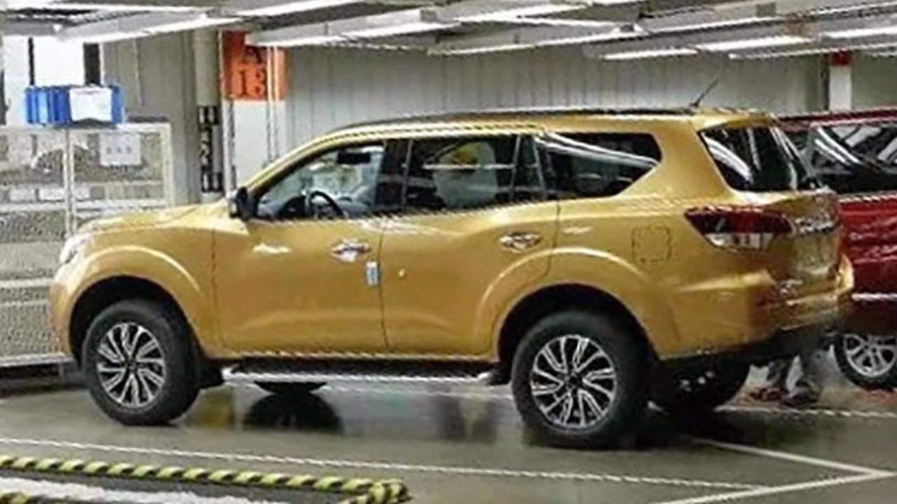 Nissan Paladin/Xterra (Frontier SUV)