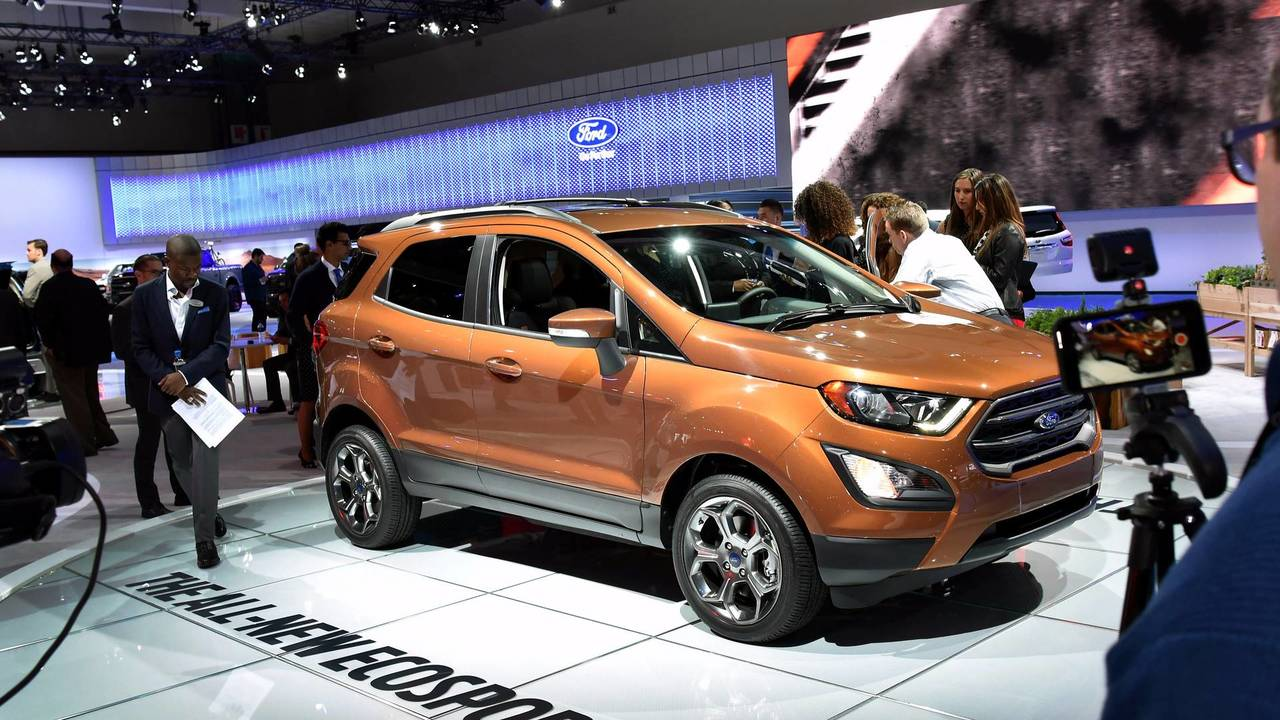 5. Ford EcoSport S $20,990