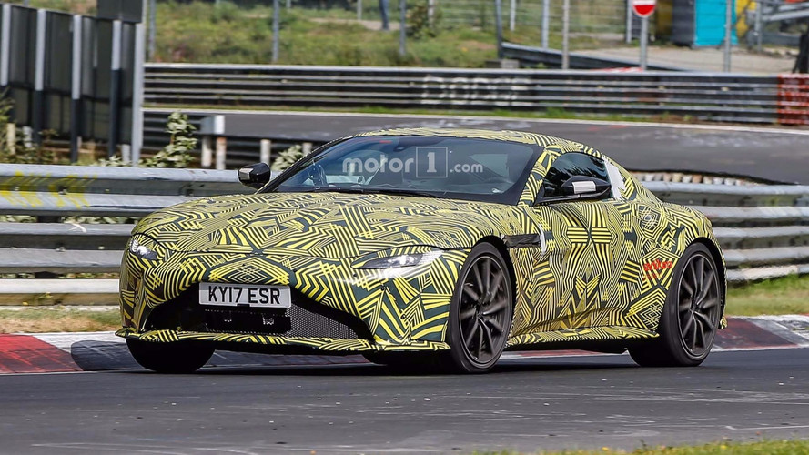 2019 Aston Martin Vantage Spied At Nurburgring