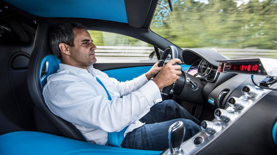 Juan Pablo Montoya Drove Bugatti Chiron To 0-249-0 MPH Record