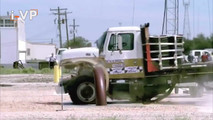 Truck Barrier Crash Test