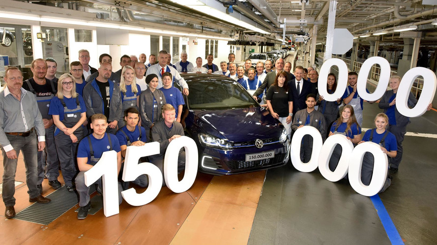 VW celebrates 150 million cars built