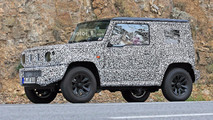 2018 Suzuki Jimny Spied With Previous Generation