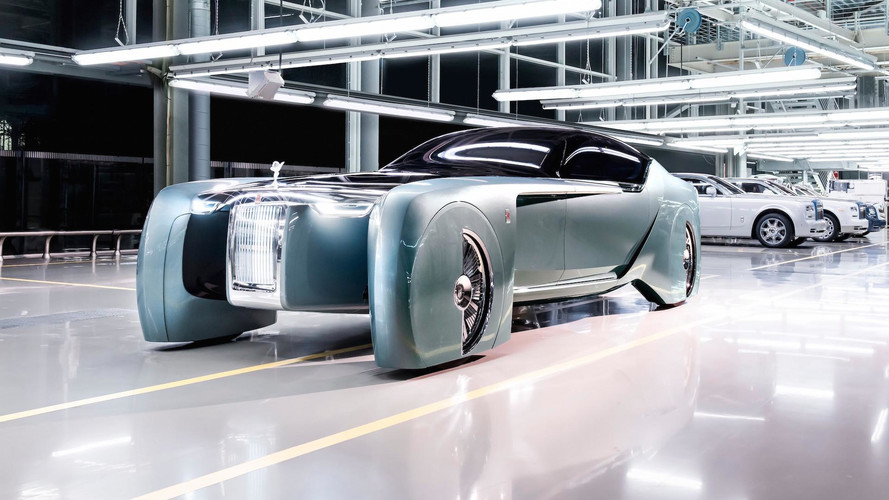 Rolls-Royce Silent Shadow planned as ultra high-end EV?