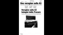 L'Anas querela il quotidiano 'Calabria Ora' per diffamazione