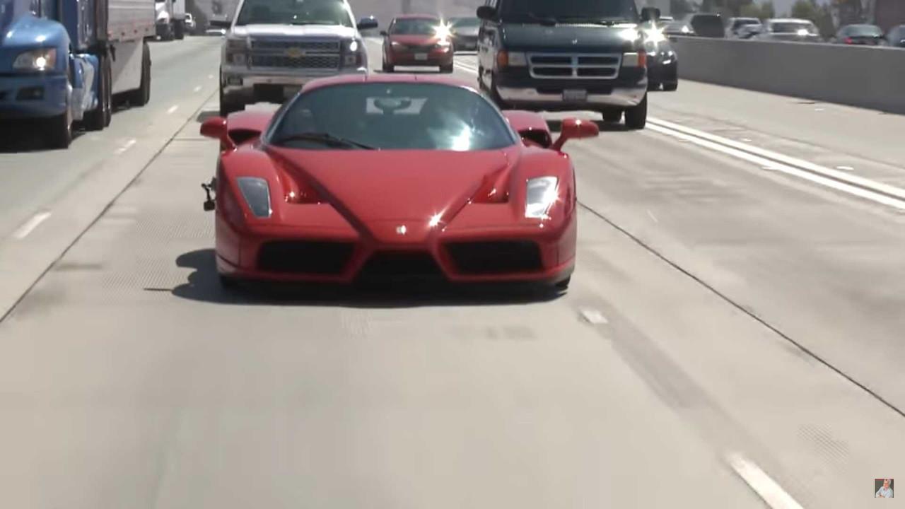 Ferrari Enzo at Jay Leno's Garage