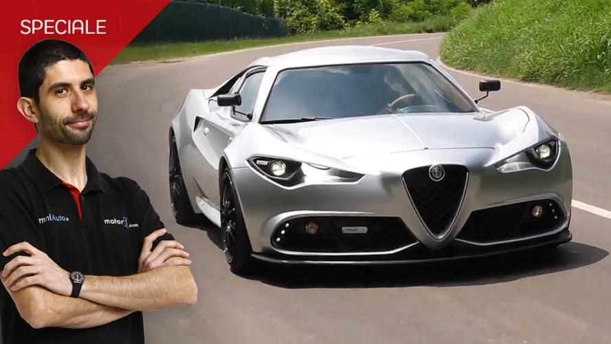 """Alfa Romeo 4C Mole, ecco come va la sportiva """"architettonica"""""""