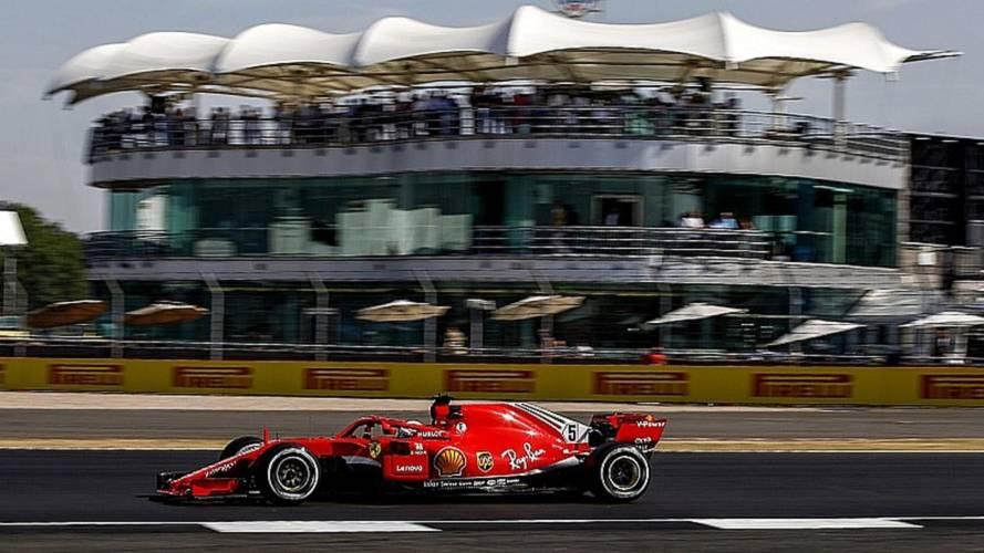 Vettel acaba primero el viernes del GP de Gran Bretaña y Alonso 6