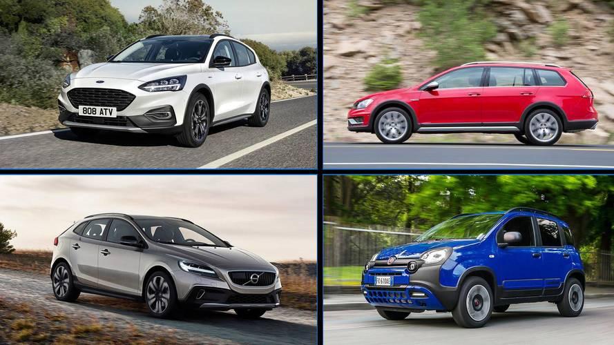18 coches con estética campera: a imagen y semejanza de los SUV