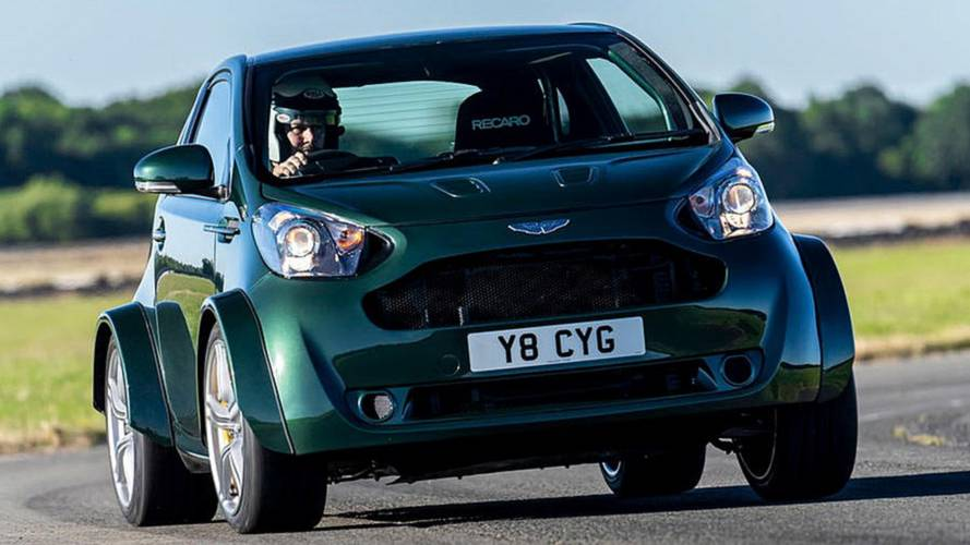 Aston Martin Cygnet resurrected as insane V8 beast