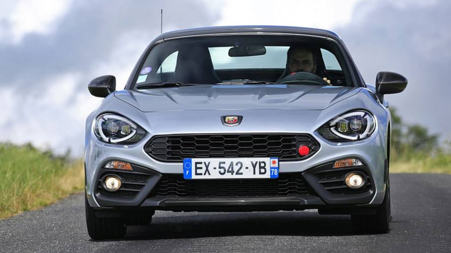 Abarth 124GT with carbon roof starts from £33,625