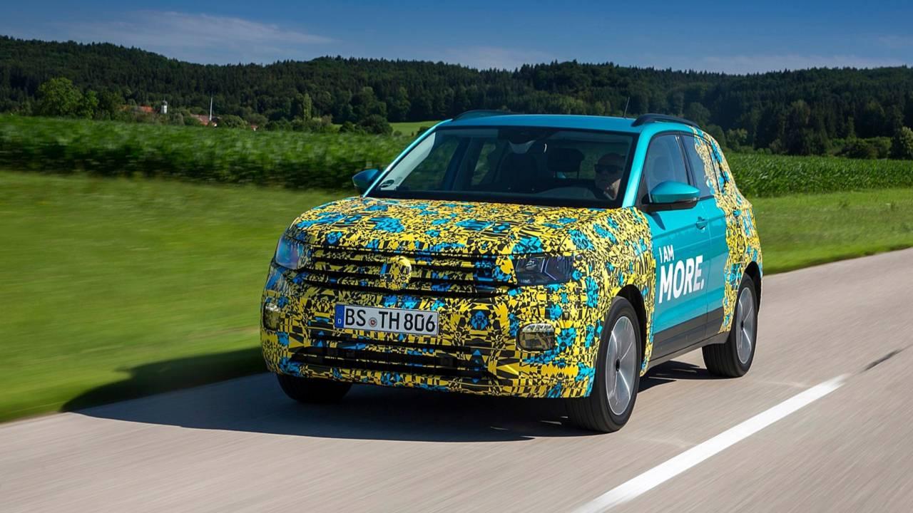 Volkswagen T-Cross - Primeira volta