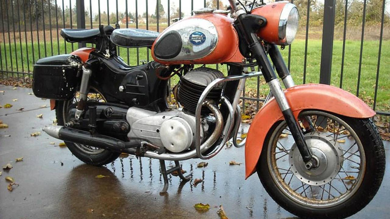 Cycleweird: Moto by Mail Part 2: Allstate Motorcycles