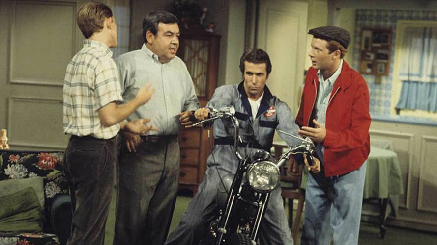 Ayyyyyyyyyyyyy, Fonzie's Triumph sells for record $179K