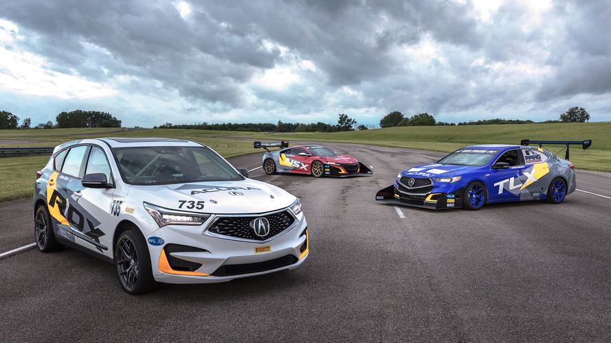 Acura Heads To Pike Peak With 350-HP RDX, 500-HP TLX A-Spec