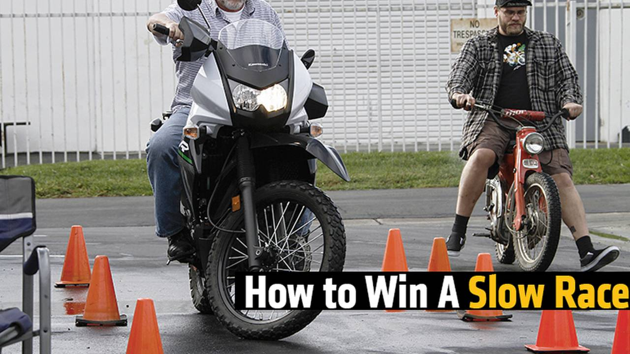 How to Win a Motorcycle Slow Race