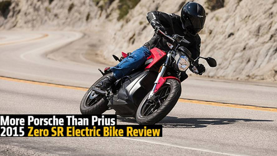 More Porsche Than Prius - 2015 Zero SR Electric Motorcycle Review