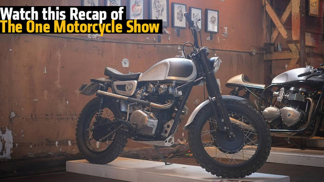 Watch this Recap of One of the Coolest Custom Bike Shows - The One Motorcycle Show