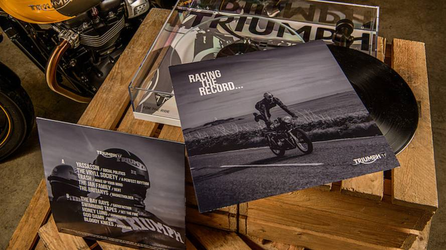 Triumph Presses Street Cup-Inspired Vinyl Record