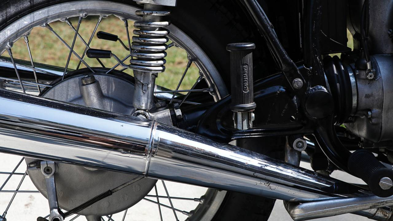 Both the enclosed drive shaft and final drive use their own fluids which must be precisely maintained.