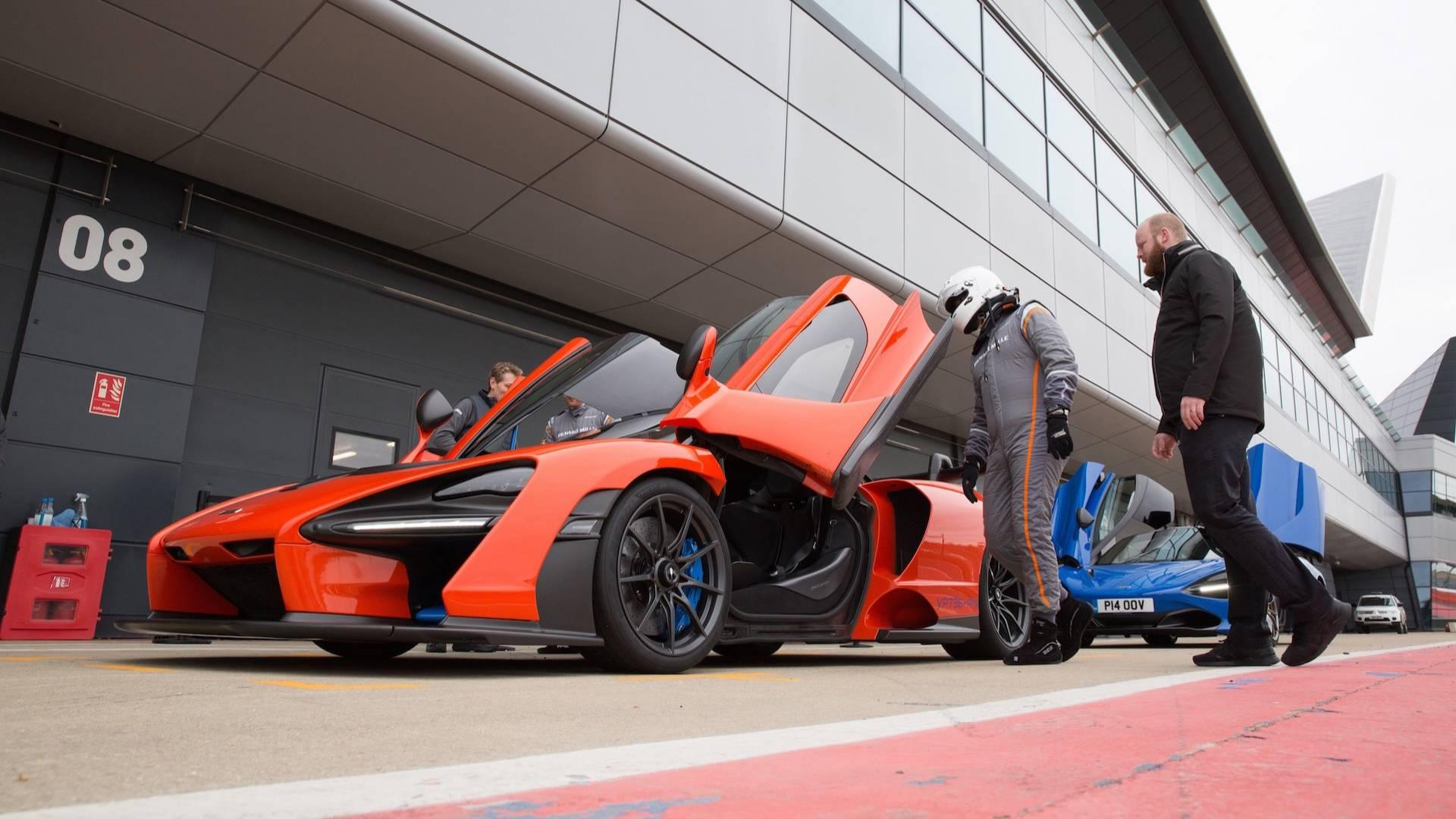 McLaren Senna: First ride