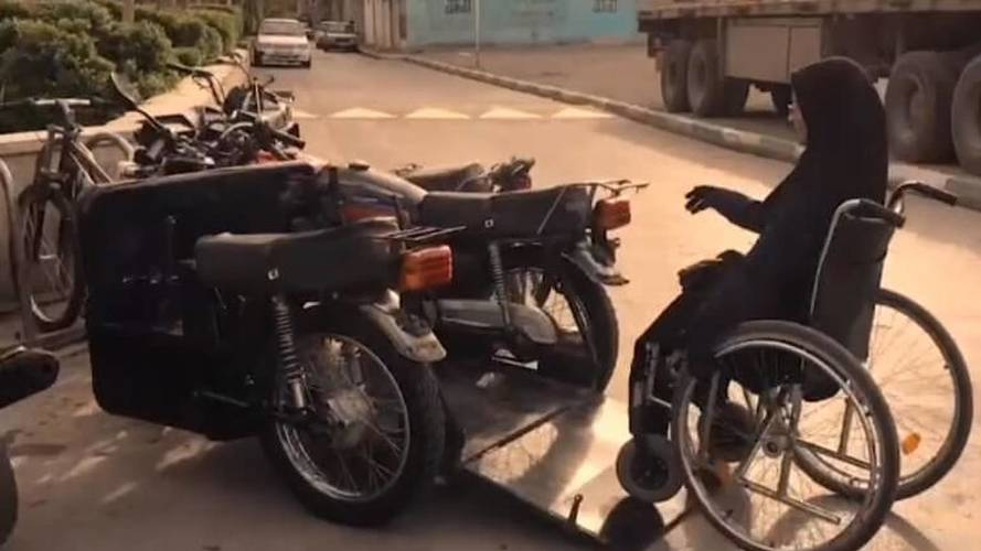 Iranian Woman Designs Her Own Wheelchair-Friendly Motorcycle