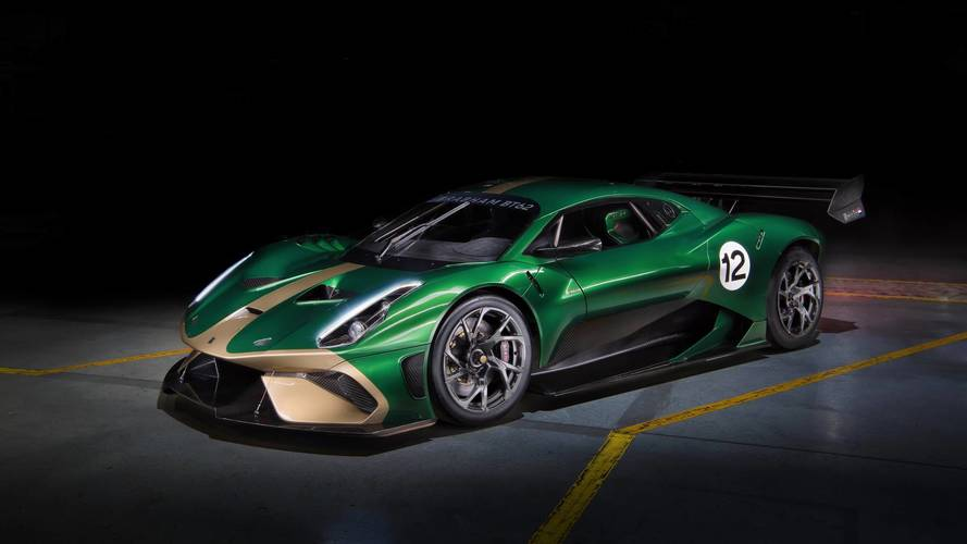 Brabham Name Returns To The Track With BT62 Supercar