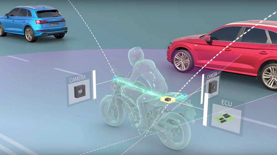 New 360-degree Detection Technology for Bikes