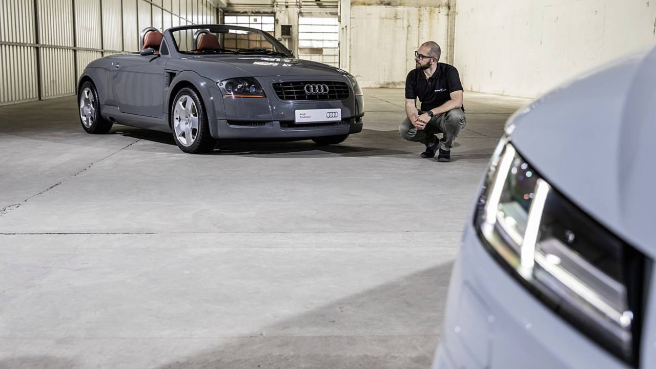 Restyling Audi TT 2019