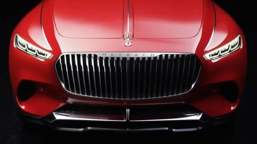 Vision Mercedes-Maybach Ultimate Luxury Teased One Last Time