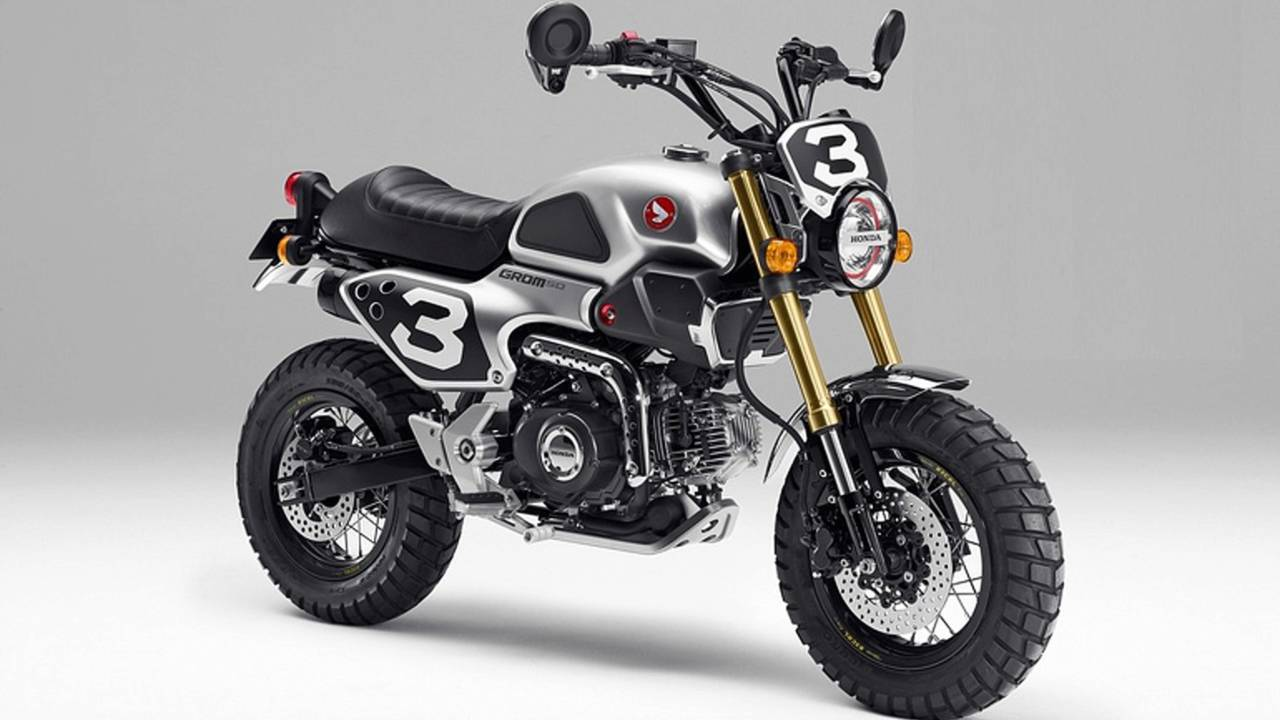 <strong>Honda took note of the retro-cool theme and showed off its Grom Concept One at the Tokyo Motor Show back in 2015 and now, a year later there's another version on the horizon.</strong>