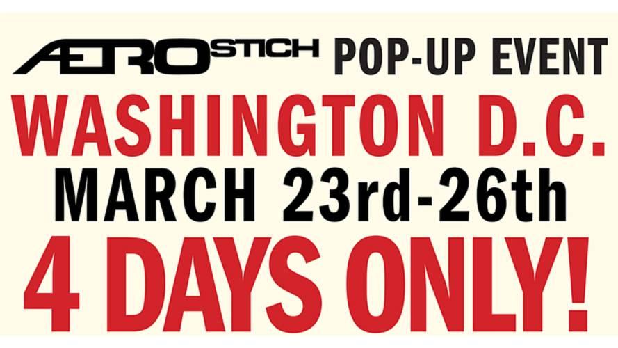 Aerostich to Pop Up in Washington, D.C.