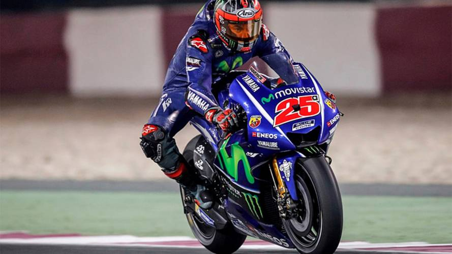 Moto Porn – First Images from Qatar MotoGP 2017