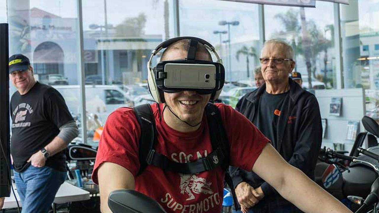 Virtual Rides at Long Beach BMW