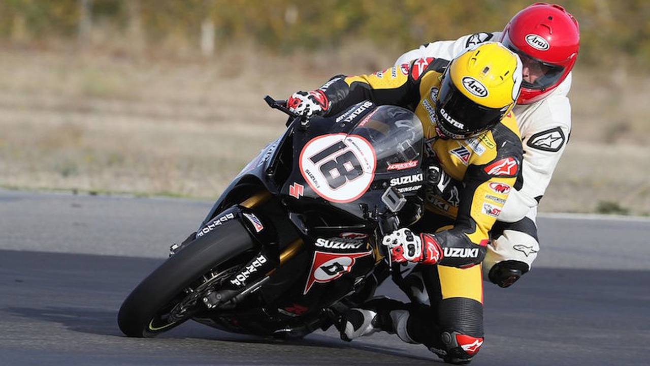 Take a Two-Up Superbike Lap With A Professional Racer