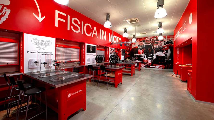 SCIENCE! Ducati Opens Physics Lab To General Public