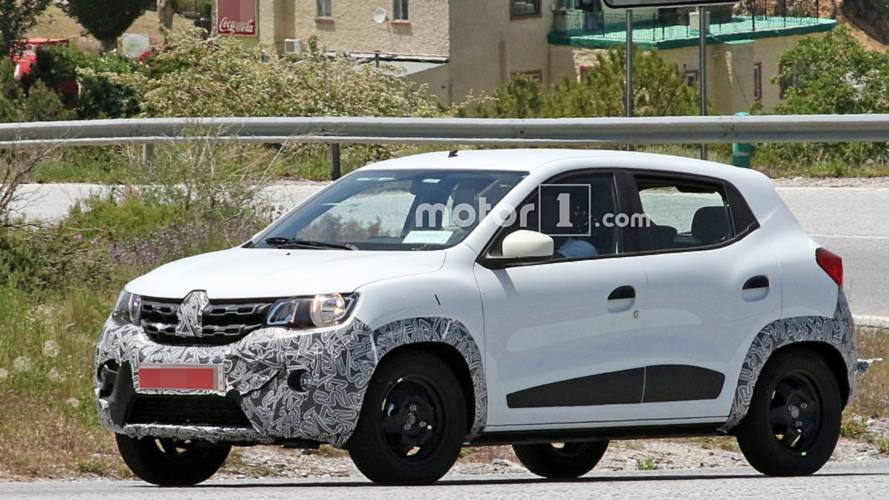 Renault Kwid facelift spy photos