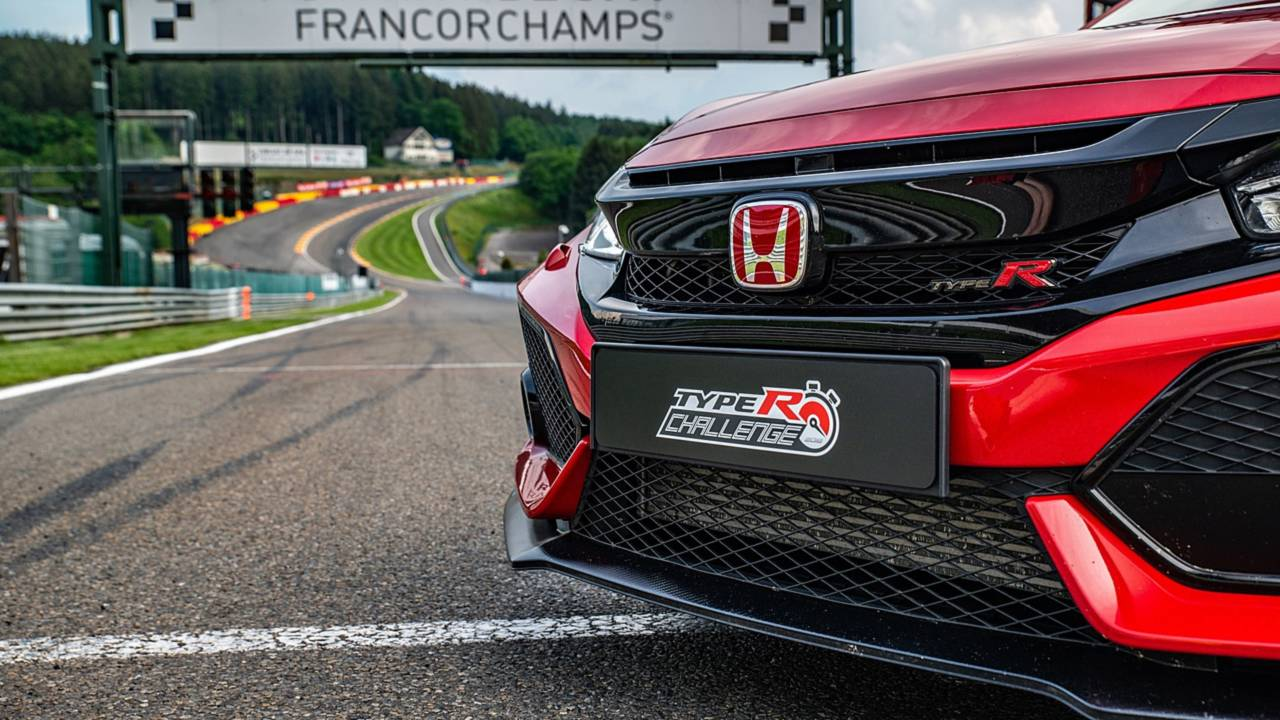 Honda Civic Type R 2018 en Spa-Francorchamps
